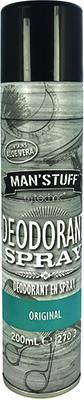 Man'Stuff * Deodorant Spray Bath & Body