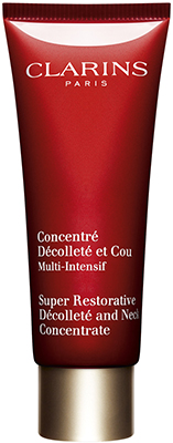 Clarins Super Restorative* Décolleté and Neck Concentrée Bath & Body
