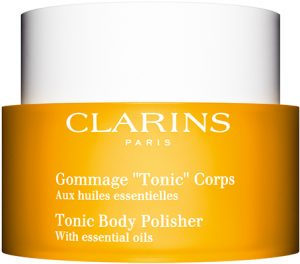 Clarins * Toning Body Polisher with 100% Pure Plant Extracts Bath & Body