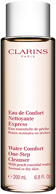 Clarins * Water Comfort One-Step Cleanser with Peach Essential Water Clarins