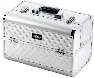 GEKO Vanity Case Heavy Duty Silver Accessories