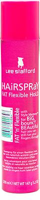 Lee Stafford Styling* Fat Flexible Hold Hair Spray Bath & Body