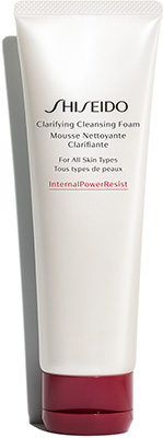 Shiseido Defend and Prepare* Clarifying Cleansing Foam Cleansing & Masks