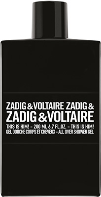 Zadig & Voltaire This is Him!* Shower Gel Bath & Body