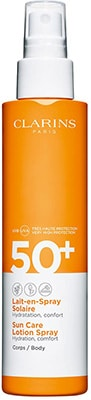 Clarins * Sun Care Body Lotion-in-Spray UVA/UVB 50+ Black Friday 2020 Offers