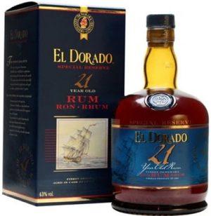 El Dorado 21 Rum