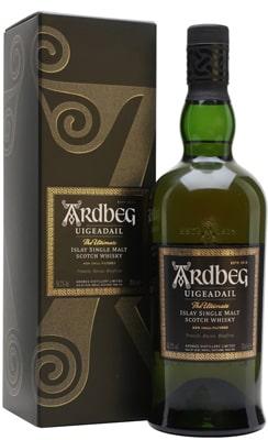 Ardbeg Uigeadail Single Malt Whisky Spirits