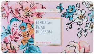Heathcote & Ivory Pinks & Pear Blossom Scented Soap Bath & Body