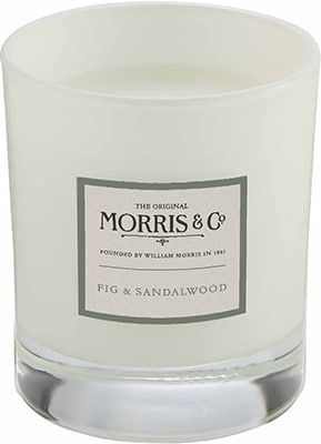 Morris & Co.   Home Candle – Fig & Sandalwood Accessories