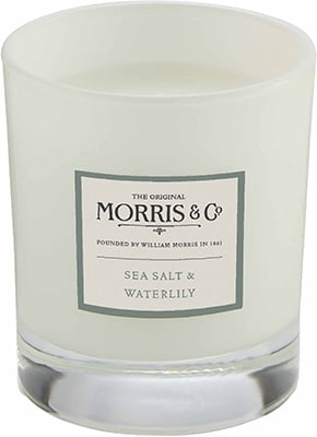 Morris & Co.   Home Candle – Sea Salt & Waterlily Accessories