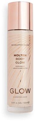 Revolution Molten Body Glow Liquid Illuminator- Gold Bath & Body