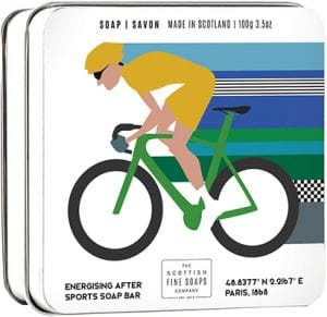 Scottish Fine Soaps  Soap In A Tin Sports – Cycling Bath & Body
