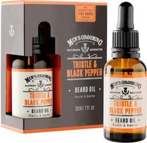 Scottish Fine Soaps  Thistle & Black Pepper Beard Oil For Men