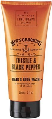 Scottish Fine Soaps  Thistle & Black Pepper Hair & Body Wash Bath & Body