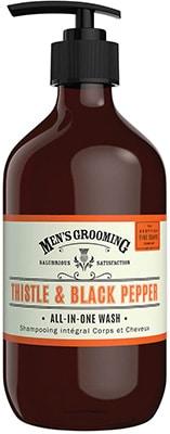 Scottish Fine Soaps  Thistle & Black Pepper All in One Wash Bath & Body