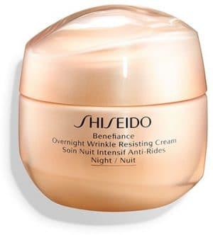 Shiseido Benefiance *  Overnight Wrinkle Resisting Cream Face Treatment