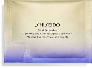 Shiseido Vital Perfection Uplifting and Firming Eye Mask Cleansing & Masks