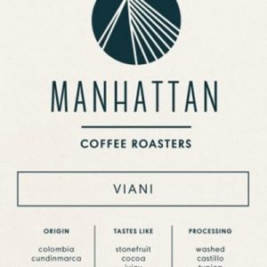 Manhattan roaster Colombia Viani 250g Coffee & Tea