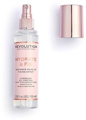 Revolution Hydrate & Fix Fixing Spray Revolution