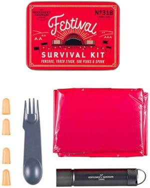 Gentlemen's Hardware  Festival Survival Kit Accessories