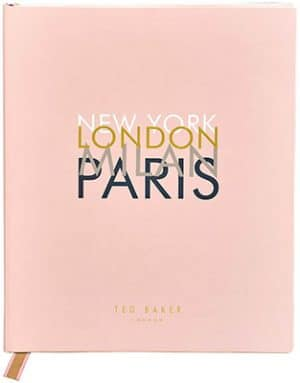 Ted Baker  Travel Journal & Planner Accessories
