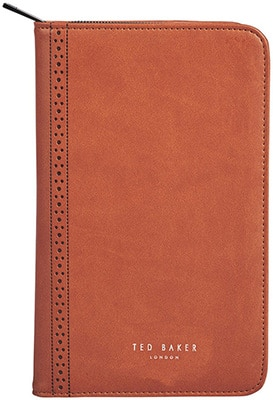 Ted Baker  Travel Documents Holder – Tan/ Brogue Accessories