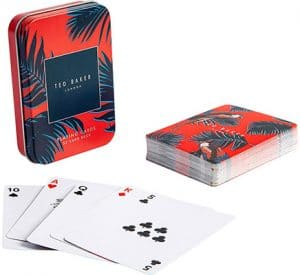 Ted Baker  Playing Cards in case Accessories