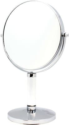 Danielle Vanity Mirror Acrylic Stem Chrome True Image / x 7 Accessories