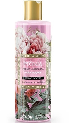 Nature & Arome  Bath & Shower Gel – Pink Peony Bath & Body