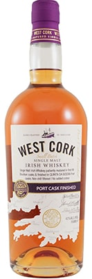 West Cork Port cask Single Malt Black Friday Wines & Spirits 2020 Offers