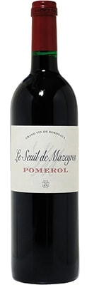 Chateau Le Seuil De Mazeyres 2016  ( Pomerol ) Black Friday Wines & Spirits 2020 Offers