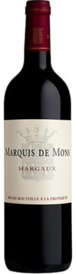 Chateau Marquis De Mons 2015 ( Margaux ) Black Friday Wines & Spirits 2020 Offers