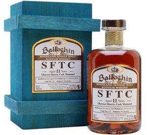 Ballechin Sherry cask Single Malt Whisky Spirits