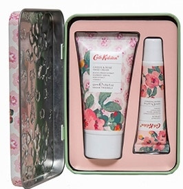 Cath Kidston  Freston Cassis & Rose – Hand & Lip Tin Bath & Body