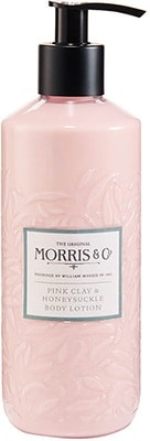 Morris & Co.  Honeysuckle & Pink Clay – Body Lotion Bath & Body