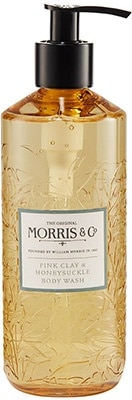 Morris & Co.  Honeysuckle & Pink Clay – Body Wash Bath & Body