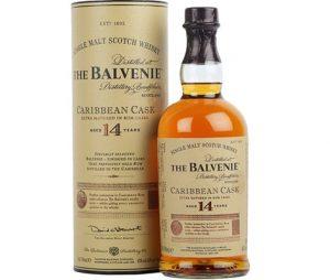 Balvenie 14 Carribean Cask Single Malt Whisky Spirits