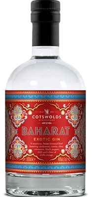 Cotswolds Bharat Gin Exotic Gin Gin