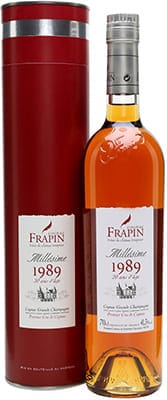 Frapin Cognac Grande Champagne 1989 Brandy