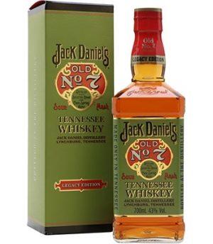 Jack Daniels Legacy Green Carton Bourbon & Rye
