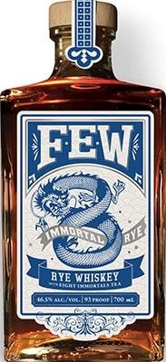 Few 8 Immortals Rye Whiskey Bourbon & Rye