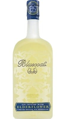 Blue Coat Elderflower gin Gin
