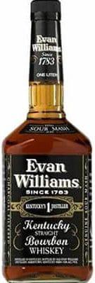 Evan Williams Black Label Kentucky Bourbon Bourbon & Rye