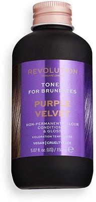 Revolution Hair Tones for Brunettes – Purple Velvet Bath & Body