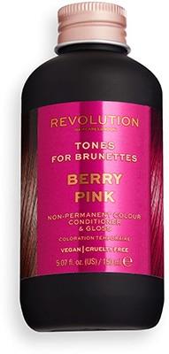 Revolution Hair Tones for – Brunettes Berry Pink Bath & Body