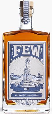 Few Straight rye whiskey Bourbon & Rye