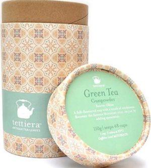 Tettiera Gunpowder Tube 110grms Coffee & Tea