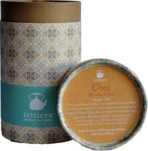 Tettiera Masala Chai Tube 110grms Coffee & Tea