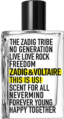 Zadig & Voltaire This is Us! * Eau De Toilette For Men