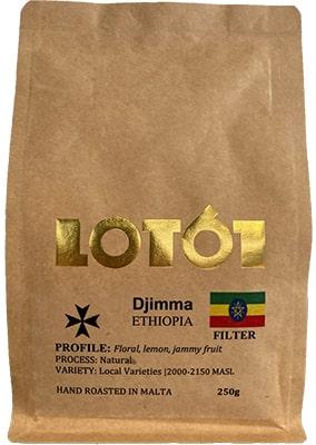 Lot 61 Ethiopia Lalo Natural Coffee 250grms Coffee & Tea